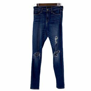Flying Monkey Distressed Skinny High Rise Jeans 28